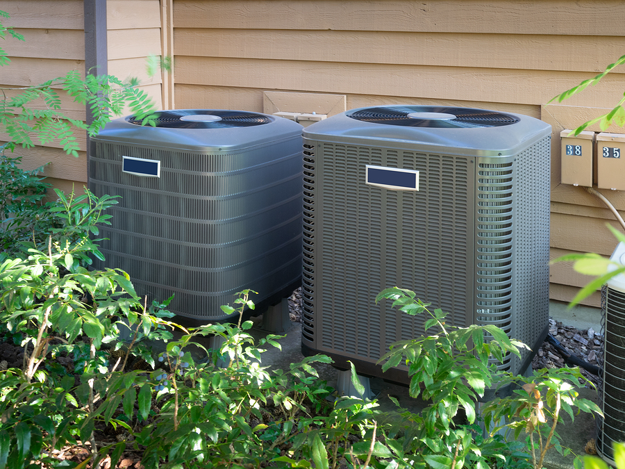 ac units located outdoor